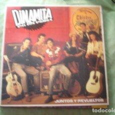 Discos de vinilo: DINAMITA PA LOS POLLOS JUNTOS Y REVUELTOS. Lote 277627843