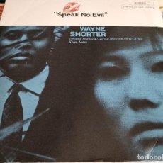 Discos de vinilo: WAYNE SHORTER - SPEAK NO EVIL (LP, ALBUM, RE, 180) SELLO:BLUE NOTE ST 84194.COMO NUEVO.MINT/VG+. Lote 259723875
