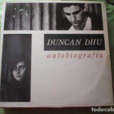 Discos de vinilo: DUNCAN DHU  AUTOBIOGRAFÍA. Lote 277629428
