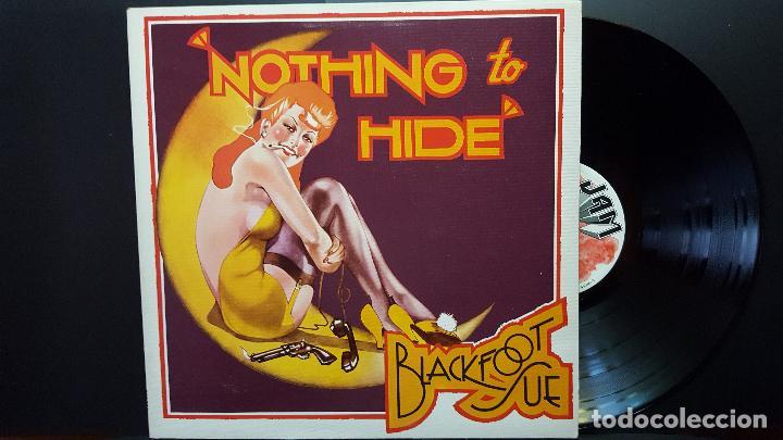 BLACKFOOT SUE NOTHING TO RIDE LP UK 1973 PEPETO TOP (Música - Discos - LP Vinilo - Pop - Rock - Internacional de los 70)