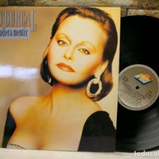 Discos de vinilo: ROCIO DURCAL SI TE PUDIERA MENTIR DISCO LP. Lote 277632148