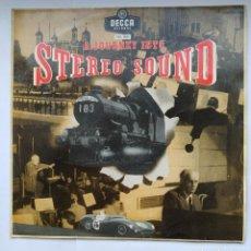 Discos de vinilo: A JOURNEY INTO STEREO SOUND. LP UN VIAJE AL SONIDO ESTEREOFONICO. TDKDA31. Lote 277632283