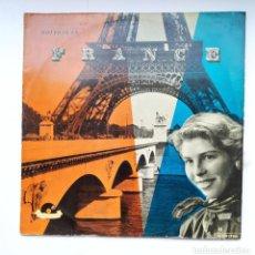 Discos de vinilo: HOLIDAY IN FRANCE. WERNER MULLER Y SU ORQUESTA. LP. TDKDA39. Lote 277634428