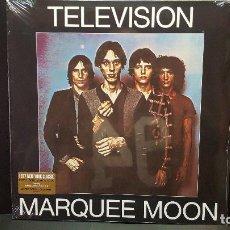 Discos de vinilo: TELEVISION MARQUEE MOON DOBLE LP USA 2018 PEPETO TOP. Lote 277635073