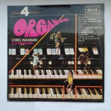 Discos de vinilo: CHRIS WAXMAN. - ORGANIZED - LP. TDKDA39. Lote 277635943