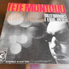 Discos de vinilo: TETE MONTOLIU - A TOT JAZZ-, LP, STELLA BY STARLIGHT + 5, AÑO 1965. Lote 277640008