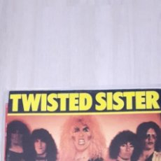 Discos de vinilo: TWISTED SISTER MAXI I,AM(I,M ME) + 3 TEMAS LIVE IN MARQUEE. Lote 277642208