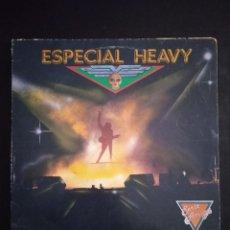Discos de vinilo: ESPECIAL HEAVY-DISCOGRAFICA ZAFIRO-SERIE AMIGA 1989. Lote 277643393