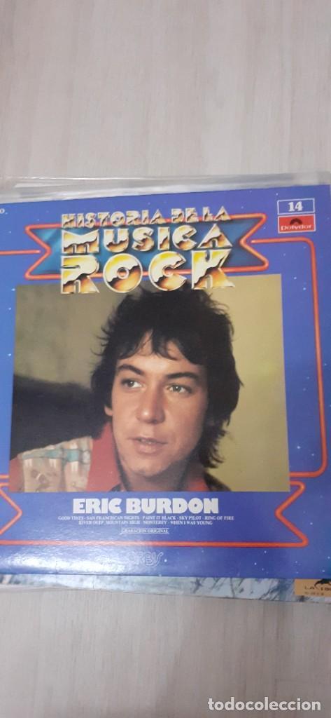 ERIC BURDON ,THE ANIMALS HISTORIA DEL ROCK (Música - Discos - LP Vinilo - Pop - Rock - Internacional de los 70)