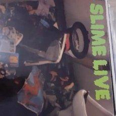 Discos de vinilo: SLIME LIVE PUNK ROCK ALEMAN. Lote 277646173