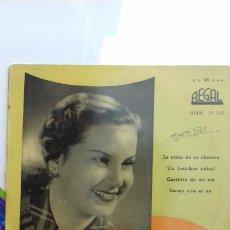 Discos de vinilo: ESTRELLITA DE PALMA -LA CINTA DE TU CHALECO.Y 3 MAS. Lote 277646428