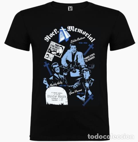 Discos de vinilo: Johnny Burnette , caja ep x6 + OBSEQUIO camiseta 80´s rocker - Foto 3 - 262352460
