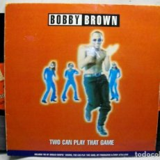 Discos de vinilo: BOBBY BROWN TWO CAN PLAY THE GAME DOBLE 2 X VINYL LP. Lote 277647198