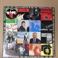 Discos de vinilo: LP PEIO ETA PANTXOA 1979-1991 . INCLUYE INSERTOS CON LAS LETRAS. GATEFOLD. Lote 277648338
