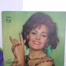 Discos de vinilo: CARMEN SEVILLA CABECITA LOCA Y 3 MAS. Lote 277649163