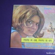 Discos de vinilo: FRANCE GALL - POUPEE DE CIRE, POUPEE DE SON +3 EP PHILIPS 1966 - POP YEYE FRANCIA EUROVISION. Lote 277653373