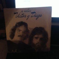 Discos de vinilo: VÍCTOR Y DIEGO.. Lote 277654888