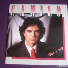 Discos de vinilo: CAMILO SESTO – VEN O VOY - SG ARIOLA 1985 - SIN ESTRENAR, PORTADA CON LEVE ROCE. Lote 277655633