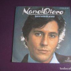 Discos de vinilo: MANOLO OTERO – QUIEN HABIA DE PENSAR - SG COLUMBIA 1979 - MELODICA POP 70'S. Lote 277655728