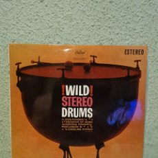 Discos de vinilo: !WILD¡ STEREO DRUMS. Lote 277659113