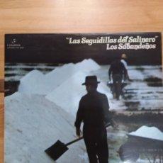 Discos de vinilo: LOS SABANDEÑOS - LAS SEGUIDILLA DE SALINERO (ESPAÑA, 1977). Lote 277662513