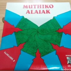 Discos de vinilo: MUTHIKO ALAIAK FANFARREA–FANFARE (ESPAÑA, 1981. CONTIENE INSERTO). Lote 277666628
