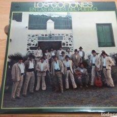 Discos de vinilo: LOS GOFIONES - EN LA RAÍCES DEL PUEBLO (ESPAÑA, 1976). Lote 277667368