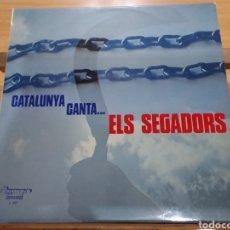 Discos de vinilo: CATALUNYA CANTA... ELS SEGADORS (ESPAÑA, 1976). Lote 277667443