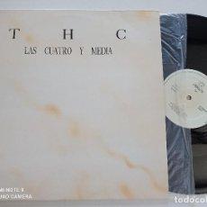 Discos de vinilo: THC - LAS CUATRO Y MEDIA - MAXI SINGLE CHUMBERA 1989. Lote 277677383