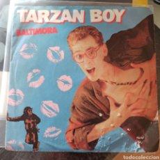 Discos de vinilo: BALTIMORA - TARZAN BOY (COLUMBIA, UK, 1985). Lote 277678153