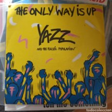 Discos de vinilo: YAZZ AND THE PLASTIC POPULATION - THE ONLY WAY IS UP (BIG LIFE, UK, 1988). Lote 277678798