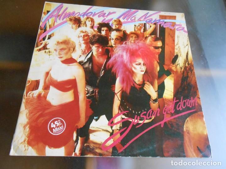 ALMODOVAR & MCNAMARA, MAXI SINGLE, SUSAN GET DOWN + 2, AÑO 1983 PROMO (Música - Discos de Vinilo - Maxi Singles - Grupos Españoles de los 70 y 80)