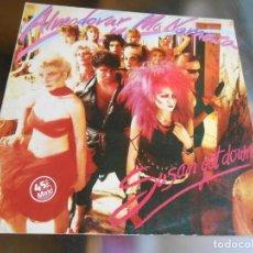 Discos de vinilo: ALMODOVAR & MCNAMARA, MAXI SINGLE, SUSAN GET DOWN + 2, AÑO 1983 PROMO. Lote 277679698