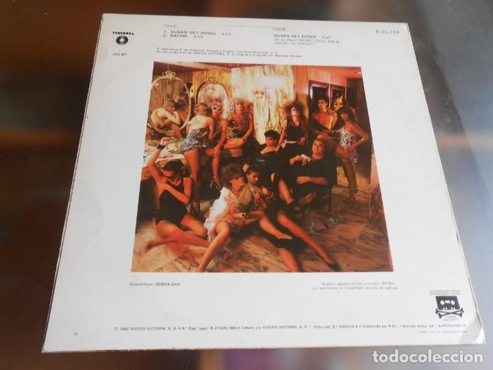 Discos de vinilo: ALMODOVAR & McNAMARA, MAXI SINGLE, SUSAN GET DOWN + 2, AÑO 1983 PROMO - Foto 2 - 277679698