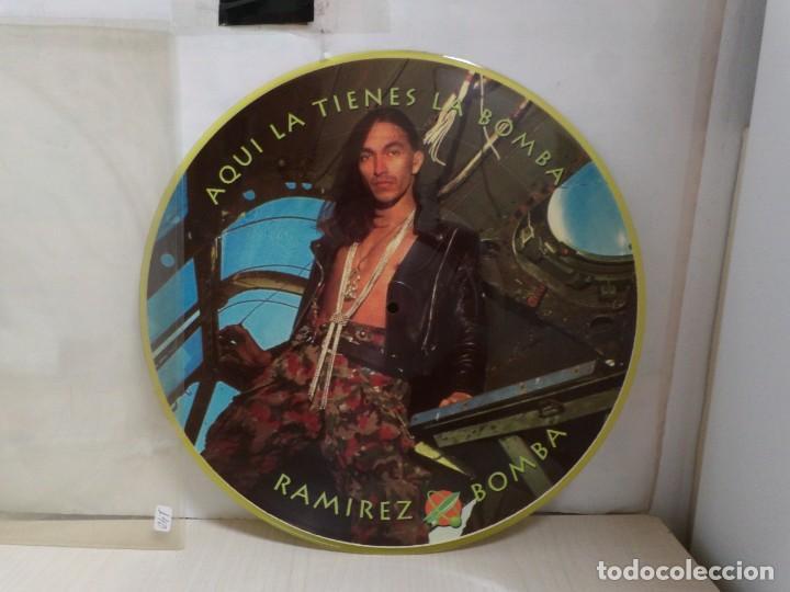 RAMIREZ AQUI LA TIENES LA BOMBA--PICTURE- (Música - Discos - LP Vinilo - Techno, Trance y House)