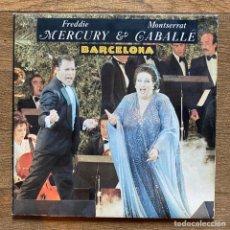 Discos de vinilo: FREDDIE MERCURY & MONTSERRAT CABALLÉ - BARCELONA. Lote 277695538
