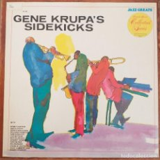 Discos de vinilo: GENE KRUPA´S SIDEKICKS (LP) 1974 EDICION U.S.A. DE BIBLIOTECA. Lote 277698063