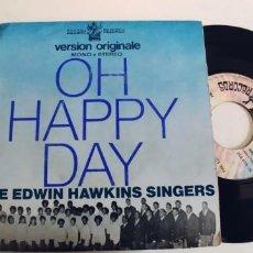 Discos de vinilo: THE EDWIN HAWKINS SINGERS-SINGLE OH HAPPY DAY. Lote 277699818