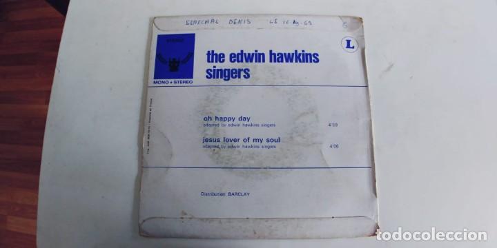 Discos de vinilo: THE EDWIN HAWKINS SINGERS-SINGLE OH HAPPY DAY - Foto 2 - 277699818