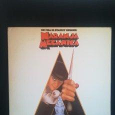 """Discos de vinilo: LP VARIOUS - STANLEY KUBRICK'S LA NARANJA MECÁNICA """"A CLOCKWORK ORANGE"""", 1983 ESPAÑA, COMO NUEVO. Lote 277699893"""