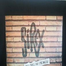 Discos de vinilo: LP LOS SIREX - SIREX, NI MÁS NI MENOS (LP, ALBUM), 1980 ESPAÑA, IMPECABLE!!. Lote 277700718
