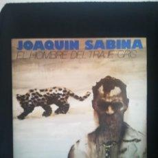 Discos de vinilo: LP GATEFOLD, JOAQUIN SABINA* - EL HOMBRE DEL TRAJE GRIS (LP, ALBUM), 1988 ESPAÑA, COMO NUEVO. Lote 277702353