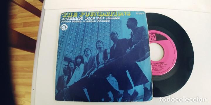 THE FOUNDATIONS-SINGLE AQUELLOS DIAS TAN MALOS (Música - Discos - Singles Vinilo - Funk, Soul y Black Music)