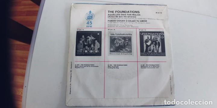Discos de vinilo: THE FOUNDATIONS-SINGLE AQUELLOS DIAS TAN MALOS - Foto 2 - 277704413