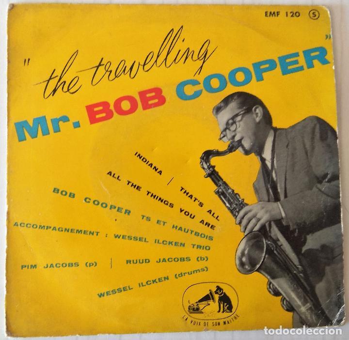 BOB COOPER - THE TRAVELLING MR. BOB COOPER LA VOIX THE SON MAITRE EDIC. FRANCESA - 1960 (Música - Discos de Vinilo - EPs - Jazz, Jazz-Rock, Blues y R&B)