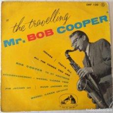 Discos de vinilo: BOB COOPER - THE TRAVELLING MR. BOB COOPER LA VOIX THE SON MAITRE EDIC. FRANCESA - 1960. Lote 277706858