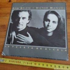 Discos de vinilo: DISCO DE VINILO DE 45RPM ANA BELÉN Y VÍCTOR MANUEL, LA PUERTA DE ALCALÁ 1986. Lote 277707243