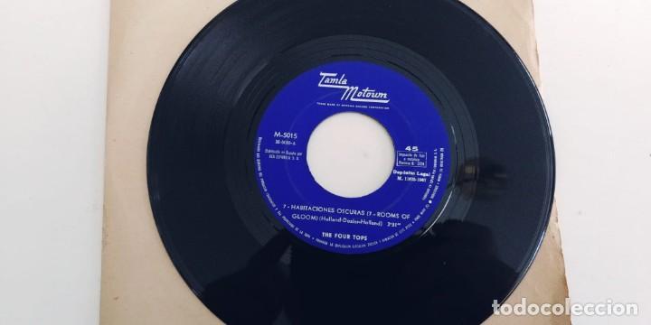 THE FOUR TOPS-SINGLE 7 HABITACIONES OSCURAS-SOLO DISCO (Música - Discos - Singles Vinilo - Funk, Soul y Black Music)