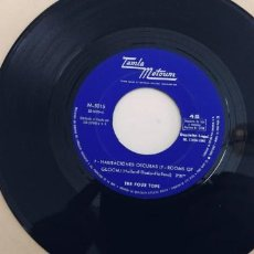 Discos de vinilo: THE FOUR TOPS-SINGLE 7 HABITACIONES OSCURAS-SOLO DISCO. Lote 277708388