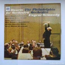Discos de vinilo: DANCES FOR ORCHESTRA. THE PHILADELPHIA ORCHESTRA. EUGENE ORMANDY. LP. TDKDA41. Lote 277708518